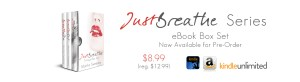 Pre-Order the Just Breathe series eBook Box Set by Martha Sweeney on Amazon