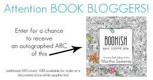 Autographed ARC Bookish: Adult Coloring Book by Martha Sweeney
