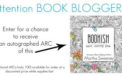 Attention BOOK BLOGGERS!  Autographed ARCs of a Bookish: Adult Coloring Book are Up for Grabs