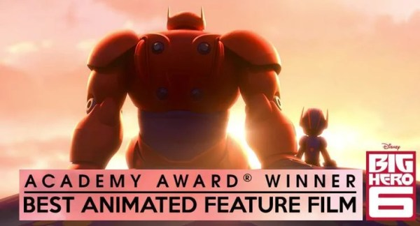 Big Hero 6 Wins Best Animated Film - Martial Arts & Action ...