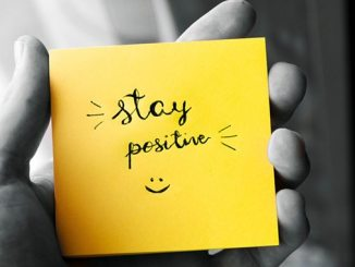 Positivity post it note