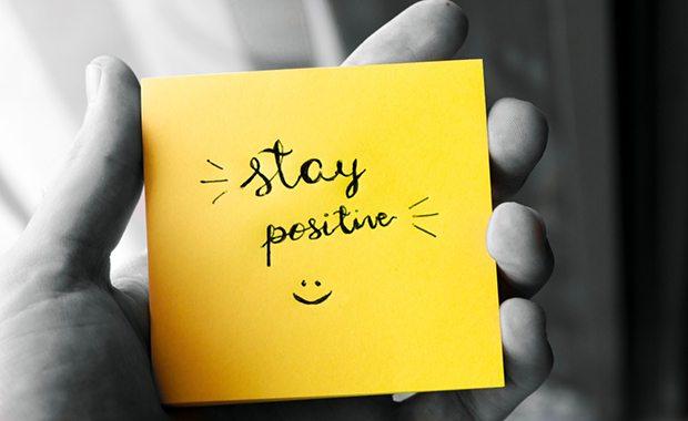 Positivity post it note