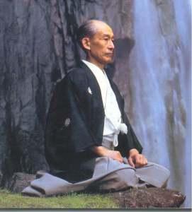 Kisshomaru Ueshiba figlio di Morihei Ueshiba