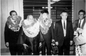 Morihei Ueshiba, Hawaii - cronologia aikido