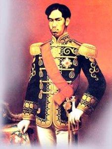Imperatore Mutsuhito Meiji