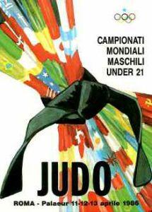 Campionati Mondiali Under21 di Judo 1986 (Roma)