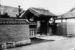 L'ingresso del tempio di Eisho, il luogo dove è nato il Judo Kodokan