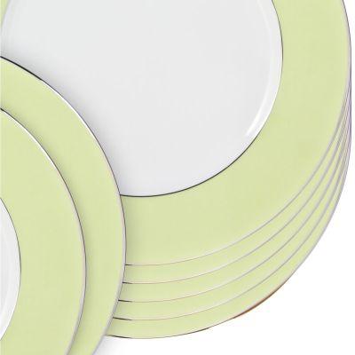 serie-sottopiatto-porcellana-con-decorazione-filo-platino-colore-verde-sharm-verdemartica