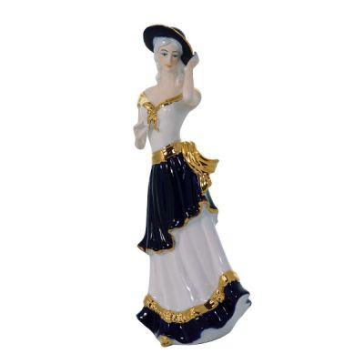 regalistica-linea-artistica-dama-con-cappello-martica