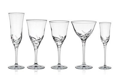 Martica servizi bicchieri con incisione e decorazioni for Bicchieri tulipano