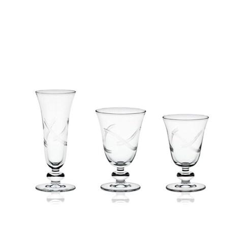 Servizio di Bicchieri Moderno con Incisione Minu