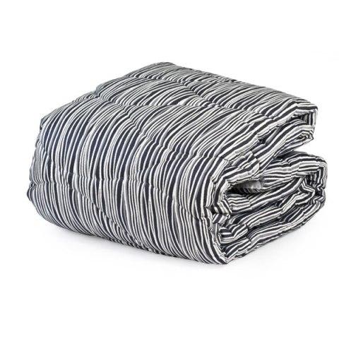 Trapunta bianco e nero matrimoniale invernale Zebra