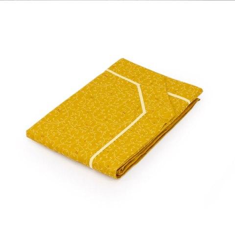 Copriletto colore oro classico