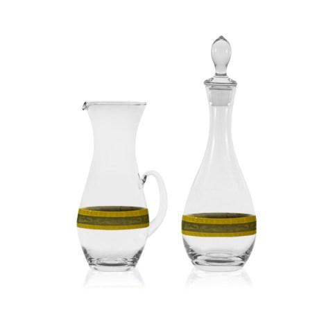 Brocca e Bottiglia in Oro e Platino - Riad