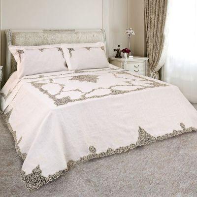 Martica collezione corredo primoletto in lino con pizzi - Primo letto corredo ...