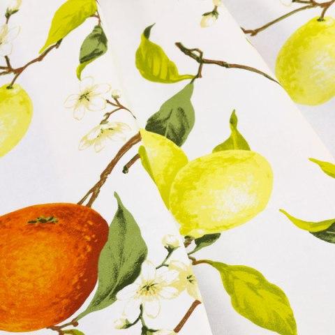 Tovaglia con limoni e arance - Agrumi
