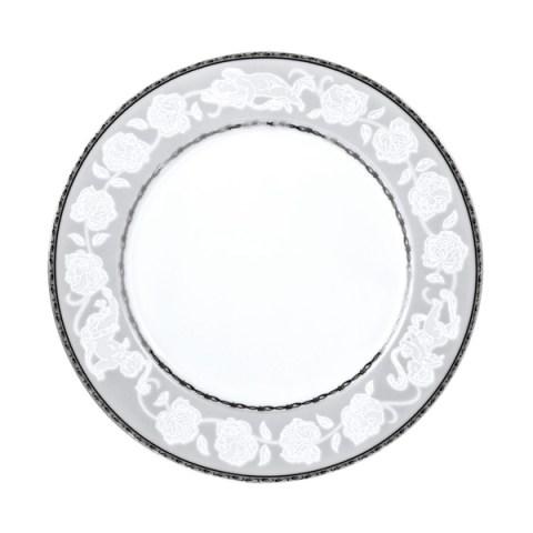 Set piatti decorati platino angeli fine porcellana