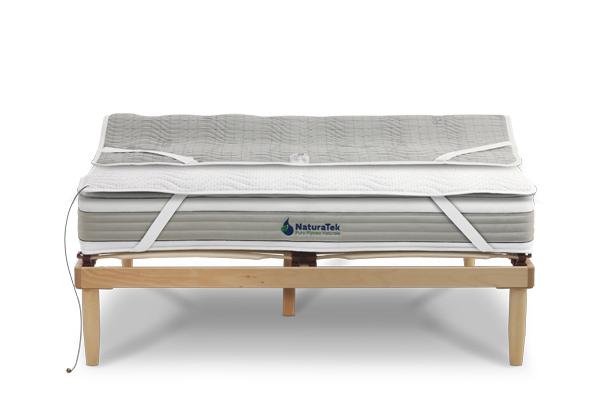 Coprimaterasso tessuto fibra argento resistat - Naturatek