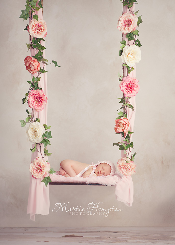 newborn baby girl photographer infant photography