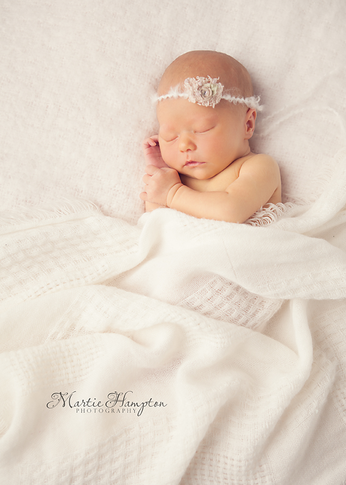 infant photographer newborn baby girl