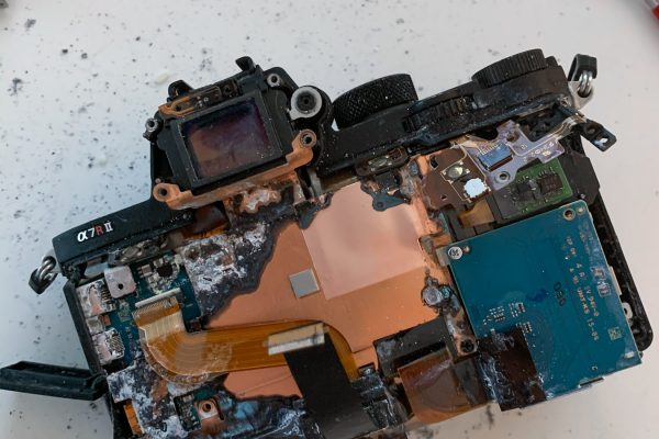 Teardown Sony A7RII-5