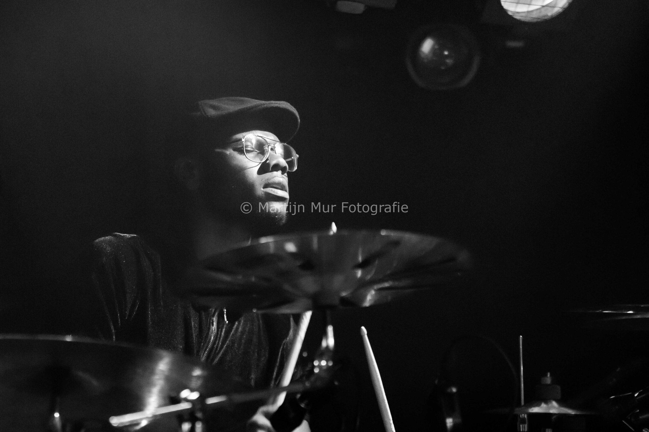 portretfotografie, concertfotografie, Emmanuel Afriyie bij Kenny B.
