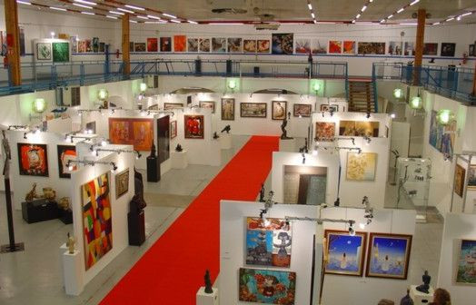 salle d 039 exposition