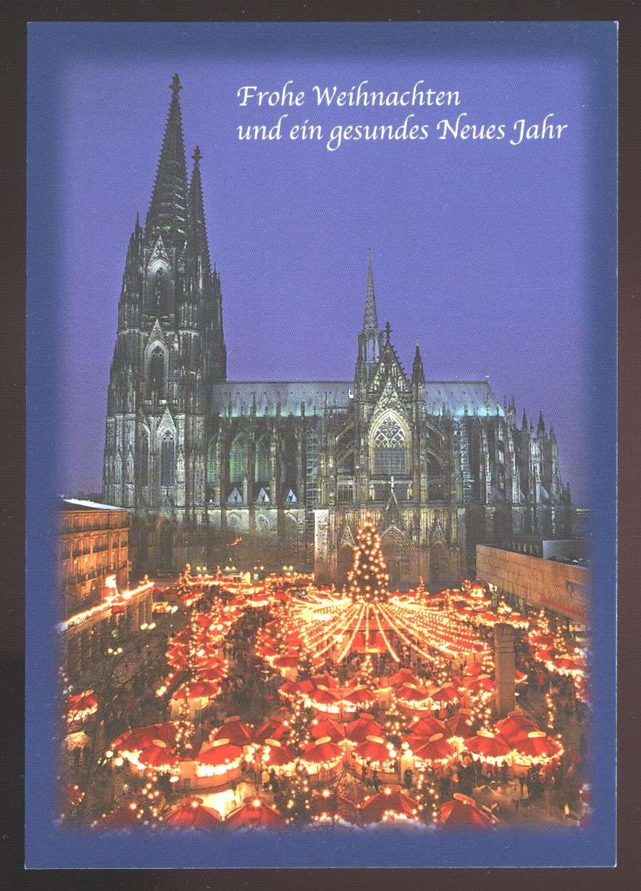 Martins Homepage Postcrossing Kln Cologne Collection