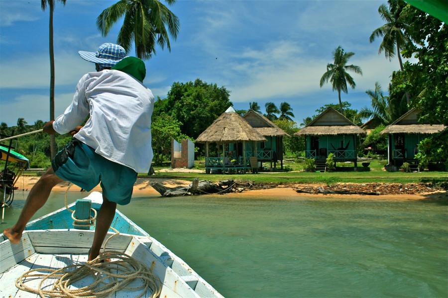 © Martina Miethig, Kambodscha, Sihanoukville Bamboo Island
