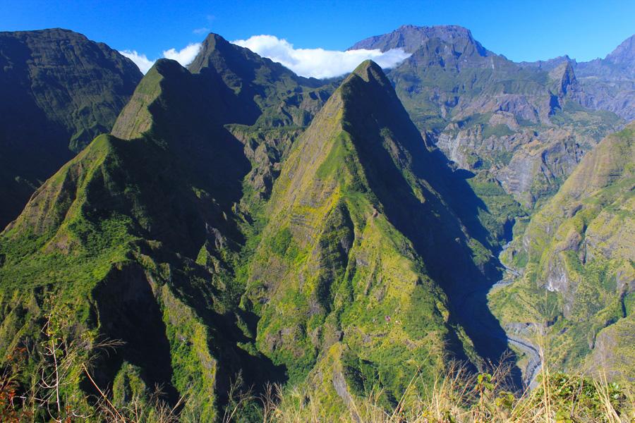 © Martina Miethig, La Reunion, Cap Noir Piton, Cabris Galets Schlucht