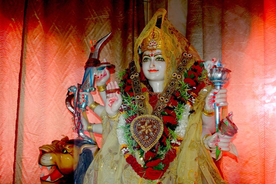 © Martina Miethig, Mauritius, Belle Mare, Kashinat Mandir, Göttin Durga