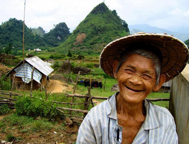 © Martina Miethig, Vietnam, Nordvietnam, Tam Duong, Sa Pa, Bauer
