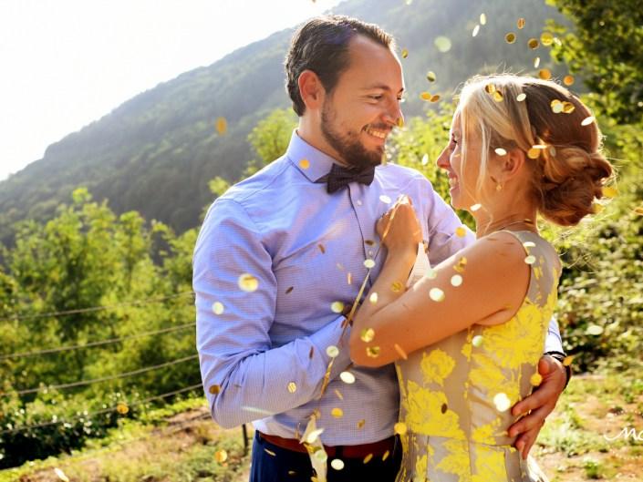 Bride and groom portraits, Heidelberg Castle Wedding in Germany. Martina Campolo Photography