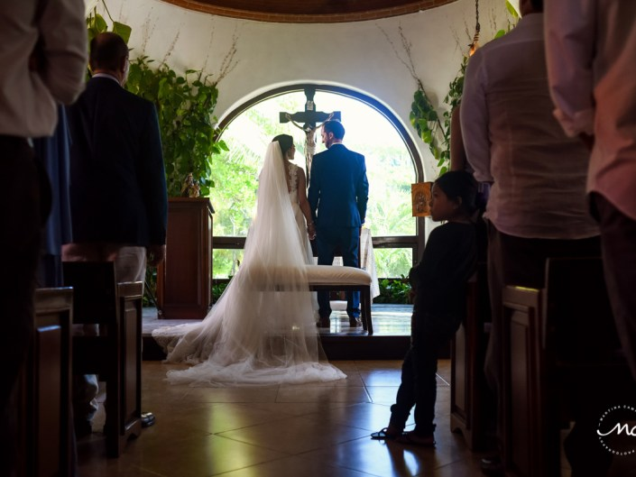 Catholic Church Wedding in Playa del Carmen, Mexico. Martina Campolo Photography