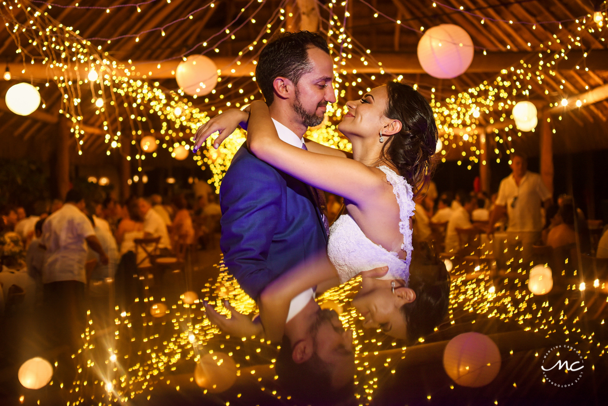 Blue Venado Wedding in Playa del Carmen, Mexico by Martina Campolo Photography