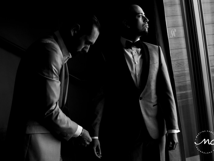Getting Ready, Royalton Riviera Cancun LGBTQ Wedding. Martina Campolo Photography