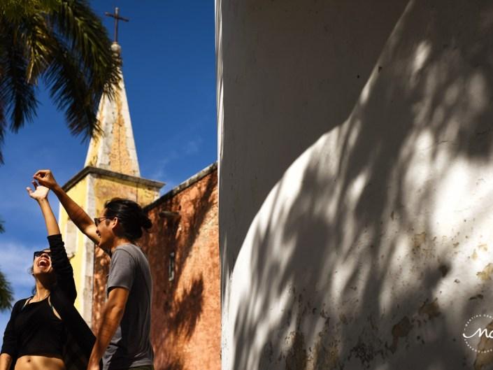 Fun Engagement Session in Merida, Yucatan, Mexico. Martina Campolo Photography