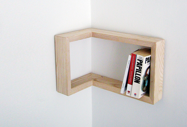 martina carpelan corner bookcase storage shelf