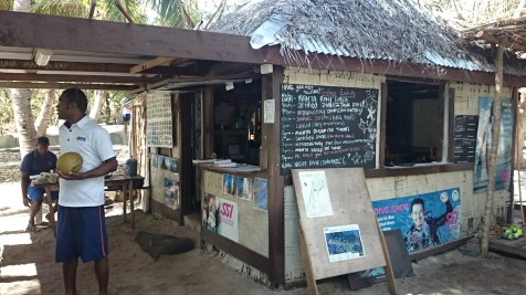 The dive shop at Barefoot