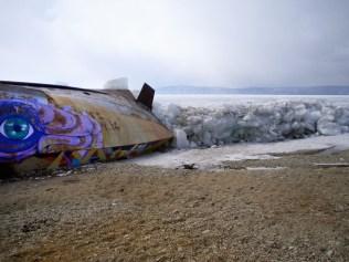 Street art in Siberia