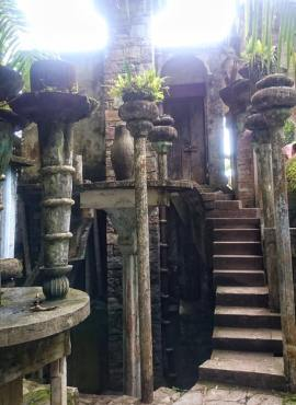 Sculptures at Las Pozas