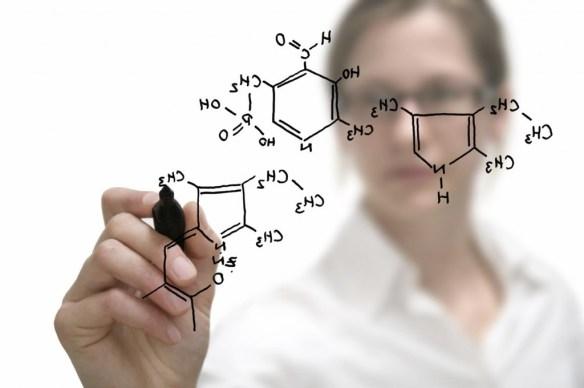 Chemistry woman