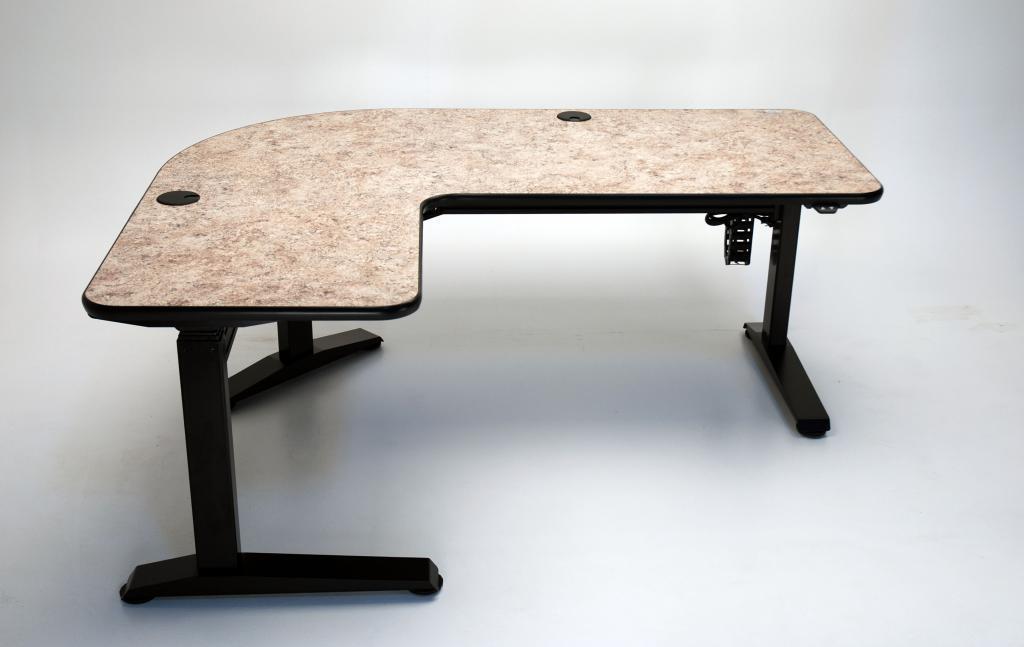 Ergo L Height Adjustable L Shaped Desk Martin Ziegler