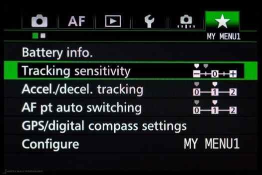 7D Mark II AI Servo Settings