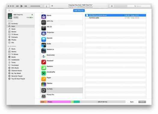 Transferring Library from iTunes