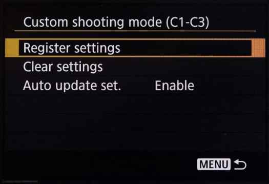 Canon EOS 5Ds R Custom Settings Auto Update