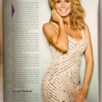 Necklace, Jewelry, Heidi Klum, Cosmopolitan Magazine