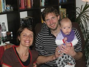 Familieportræt fra Martins 30 års fødselsdag.