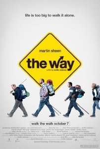 Filmplakaten for filmen The Way med Martin Sheen og Emilio Estevez