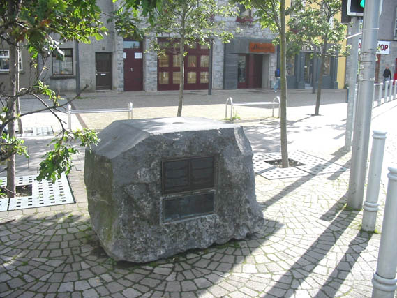 Seattle sister city stone in Galway